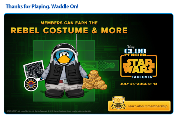 members can earn the rebel costume and more