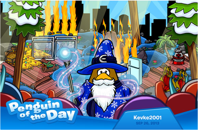penguin of the day kevke2001